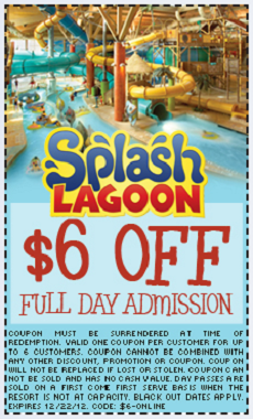 Have a splash at the Splash Lagoon indoor soundinstruments.ml Offers · Credit Cards · Birthday Parties · Great Deals.